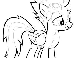 My Little Pony Friendship Is Magic Coloring Pages Scootaloo My