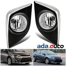 2014 Toyota Corolla Fog Light Bulb Para 2014 2015 2016 Toyota Corolla Parachoques Luces