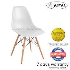 sumo sc 28wht designer accent chair white