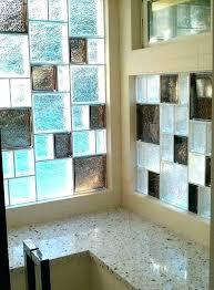 glass blocks in bathroom shower wall ideas glass block shower wall prefab shower walls large size glass blocks in bathroom