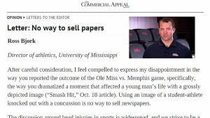 Bjork scolds Memphis paper for Nkemdiche cover Red Cup Rebellion