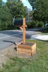 creative mailbox post. Unique Creative New Mailbox Livingmydoorcountycom Creative  Throughout Post S