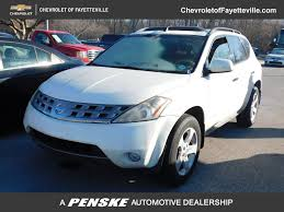 2005 Used Nissan Murano 4dr SL AWD V6 at Toyota of Fayetteville ...
