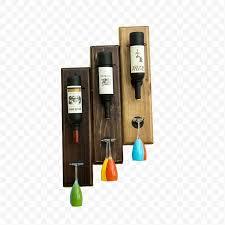 Retro Solid <b>Wood Red Wine Rack</b>