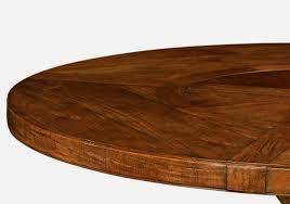 round high end farm table