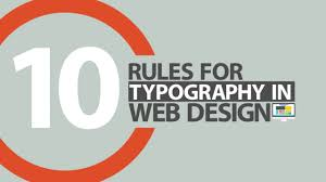 Rules Of Typography Design 10 Rules Of Typography In Web Design