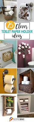 25 toilet paper holders to finish off your bathroom décor
