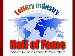 LOTTERY INDUSTRY HALL OF FAME By Duane Burke, CEO, Public Gaming Research  Institute, Inc. Early in 2005 I announced that Public Gaming Research  Institute. - ppt download