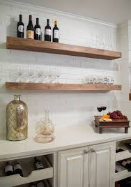 Easy To Install Floating Shelves Floating Shelves See How Easily They Create Open Airy Interiors 95