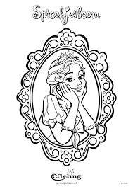 Disney Prinses Kleurplaat Kleurplaat Vor Kinderen With Regard To