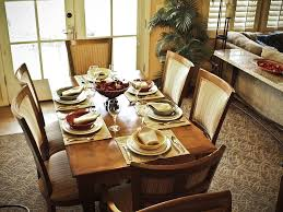 Kitchen Table Settings Dining Table Dining Room Table Settings House Design Ideas