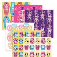 best day of the dead scrapbooking artwork pack pdf papers