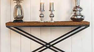 modish furniture. Amusing Reclaimed Wood Furniture Industrial Console Table Modish Living A