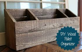 diy wood desk organizer mail sorter organizing painted furniture o78 desk