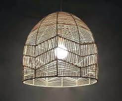 rattan lighting. Rattan Pendant Light Hand Made Natural Lights Lighting .