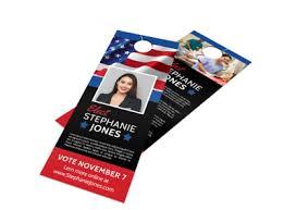 Elect Political Door Hanger Template