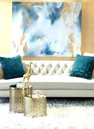blue and gold living room black white ideas navy