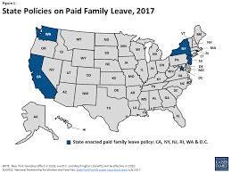 California Leave Laws Chart Paid Family Leave And Sick Days In The U S Findings From