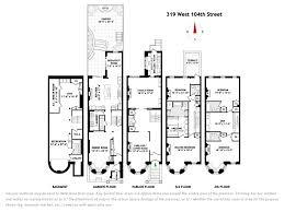 house plan new york beautiful brownstone row house floor plans kitchen inspiration home plans