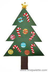 Paper Christmas Tree Craft  Kidsu0027 Crafts  FirstPalettecomChristmas Tree Kids