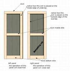 how to build a front doorDouble Shed Doors