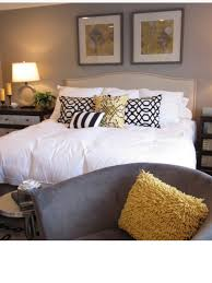Color Scheme For Bedroom Bedroom Colour Scheme Black White Mustard And Beige Interior
