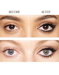 to make your eyes appear bigger apply white eyeliner on your lower eyelid and if you re going for a smoky eye look apply eyeshadow below your eyelid