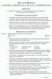 Private Equity Resume u2013 Resume Examples - venture capital resume .