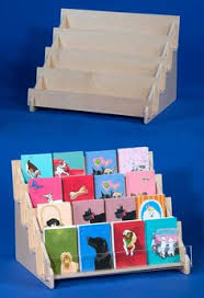 Wooden Greeting Card Display Stand Larger plywood card display card creations Pinterest Card 32