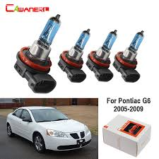Pontiac G6 Light Bulb Us 10 61 59 Off Cawanerl For Pontiac G6 2005 2009 4 Pieces 100w H9 H11 Car Accessories Halogen Bulb Headlight Light High Low Beam 12v High Power In