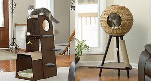 sauder scores big hit with new modern cat furniture line hauspanther cat modern furniture