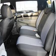 toyota tacoma bench seat covers rear bench 09 15 tacoma double cab standard and trd graphite back bartact