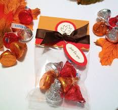 Autumn Harvest Treat Bags and Toppers (Set of 12) - Thanksgiving Party  Favors or Table Decorations