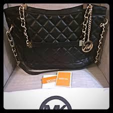 Michael Kors - HOLD Michael Kors susannah black quilted bag from ... & HOLD Michael Kors susannah black quilted bag Adamdwight.com