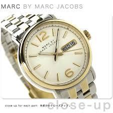 nanaple rakuten global market mark by mark jacobs fergus mens mark by mark jacobs fergus mens mbm5079 marc by marc jacobs watch quartz silver gold