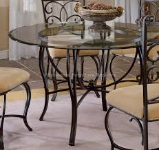 round glass kitchen table throughout best home design ideas designs 14