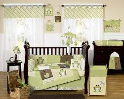 although the main feature of this set is a cool playful design pretty green frog decorates every item you could find more information about this baby crib