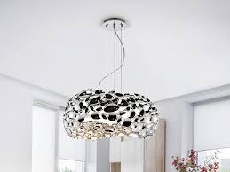 narisa chrome large pendant light 266284