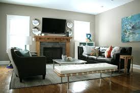Decorating Rectangular Living Room Model Impressive Decorating