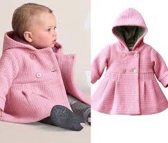 toddler girl peacoat baby girls fall winter horn on hooded warm wool blend pea coat snowsuit toddler girl peacoat