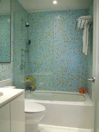 bathroom shower glass tile ideas. Wonderful Ideas Light Blue Glass Tile Bathroom To Shower Ideas A