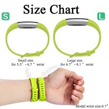 Fitbit Alta Wrist Size Chart Details About Replacement Silicone Sports Watch Band Strap Bracelet For Fitbit Alta Alta Hr