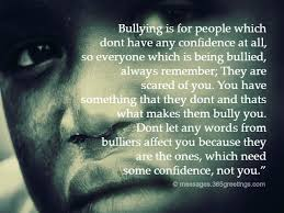 Bullying Quotes Custom Bullying Quotes And Sayings With Image 48greetings