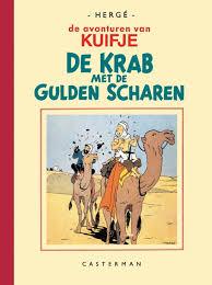 Bolcom Kuifje Facsimile Zwartwit De Krab Met De Gulden Scharen