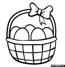 Small Picture 6 Printable Easter Baskets Coloring Pages