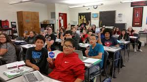 west student essays get nod from nasa nampa school distr  west middle school student show off their nasa swag essay