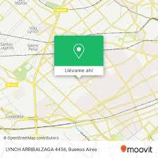 Cómo llegar a LYNCH ARRIBALZAGA 4456 en Distrito Federal en Colectivo, Tren  o Subte | Moovit