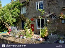 cottage office. Cottage And Post Office In Edensor Village Chatsworth Estate Derbyshire