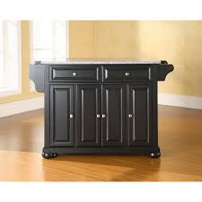 Granite Top Kitchen Island Kitchen Island Black Granite Top