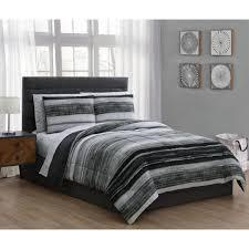 undefined laken 7 piece black king bed in a bag